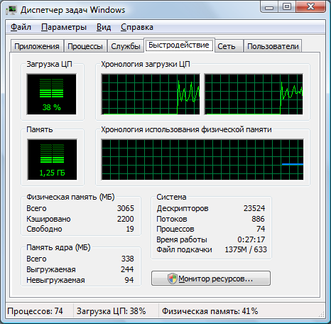 computer speed